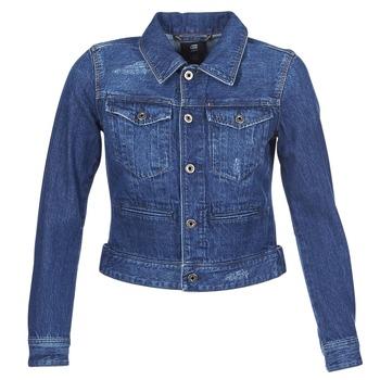 vaatteet Naiset Farkkutakki G-Star Raw D-STAQ DC DNM Blue / Denim