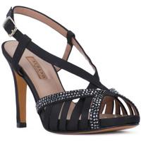 kengät Naiset Sandaalit ja avokkaat Albano RASO NERO Nero