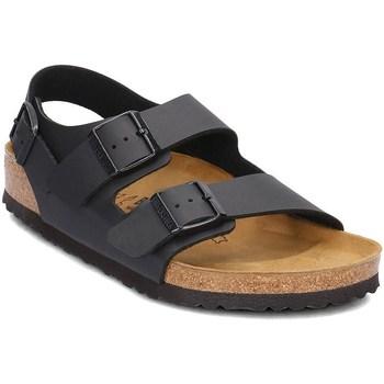 kengät Miehet Sandaalit ja avokkaat Birkenstock Milano Ruskeat, Grafiitin väriset