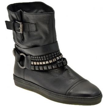 kengät Naiset Nilkkurit Janet&Janet  Musta
