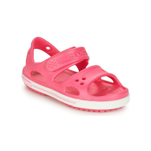 kengät Tytöt Sandaalit ja avokkaat Crocs CROCBAND II SANDAL PS Pink