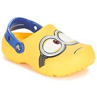 kengät Lapset Puukengät Crocs CROCS FUNLAB MINIONS CLOG Yellow