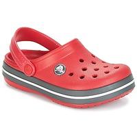 kengät Lapset Puukengät Crocs CROCBAND CLOG KIDS Red