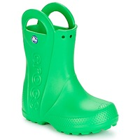 kengät Lapset Kumisaappaat Crocs HANDLE IT RAIN BOOT KIDS Green