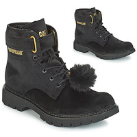 kengät Naiset Nilkkurit Caterpillar CONVERSION VELVET Musta