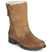 kengät Naiset Bootsit Sorel EMELIE FOLDOVER Camel
