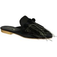 kengät Naiset Puukengät Gia Couture VENUS SATIN B nero