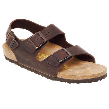 kengät Miehet Sandaalit ja avokkaat Birkenstock MILANO Brown
