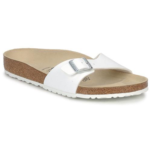 kengät Miehet Sandaalit Birkenstock MADRID White
