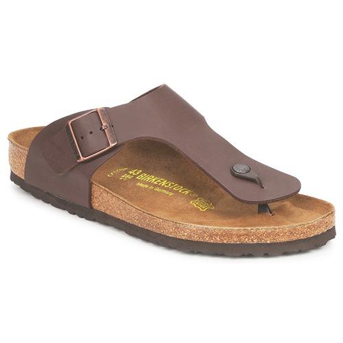 kengät Miehet Varvassandaalit Birkenstock RAMSES Brown