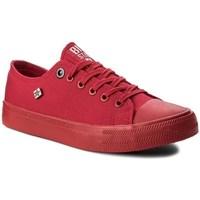 kengät Naiset Matalavartiset tennarit Big Star AA274007 Punainen