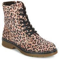 kengät Tytöt Bootsit Bullboxer LANA Leopardi
