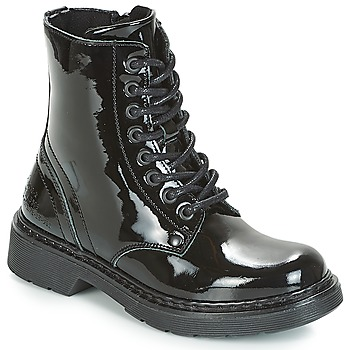 kengät Tytöt Bootsit Bullboxer LANA Musta