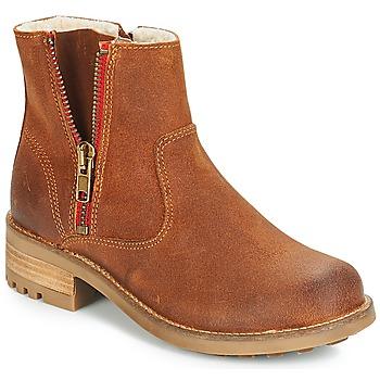kengät Tytöt Bootsit Bullboxer LUNA Brown