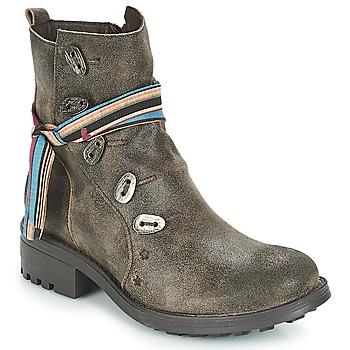 kengät Naiset Bootsit Felmini NOUMERAT Brown