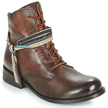 kengät Naiset Bootsit Felmini SANTIAGO Brown