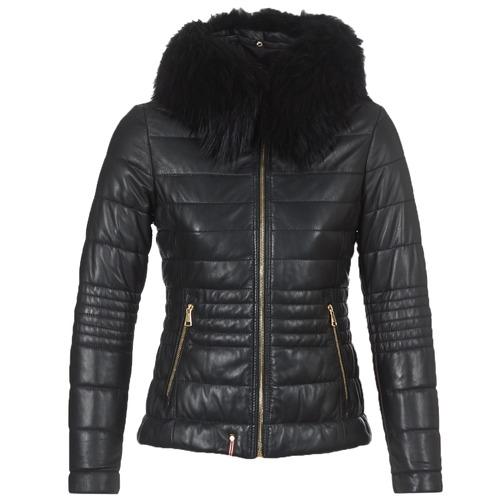 vaatteet Naiset Toppatakki Oakwood JELLY Black