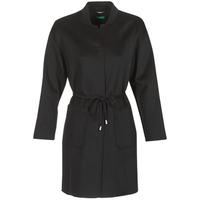 vaatteet Naiset Paksu takki Benetton MARBELLO Musta