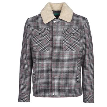 vaatteet Miehet Paksu takki Benetton MADRILA Grey