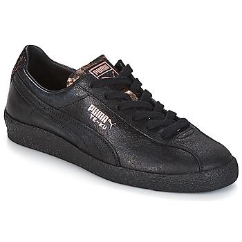 kengät Naiset Matalavartiset tennarit Puma WN TE-KU ARTICA.BLACK-BLAC Musta