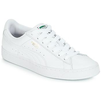 kengät Matalavartiset tennarit Puma BASKET CLASSIC LFS.WHT White