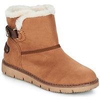 kengät Naiset Bootsit Tom Tailor SIDYA Camel