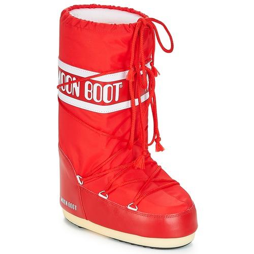 kengät Talvisaappaat Moon Boot NYLON Red