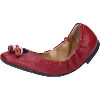 kengät Naiset Balleriinat Bally Shoes ballerine rosso pelle BY33 Rosso