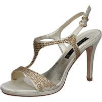 kengät Naiset Sandaalit ja avokkaat Bacta De Toi sandali platino raso strass BY95 Altri