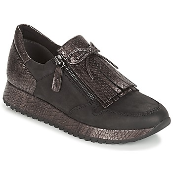 kengät Naiset Matalavartiset tennarit Tamaris DIVA Black