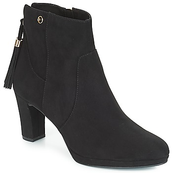 kengät Naiset Nilkkurit Tamaris MAURA Black