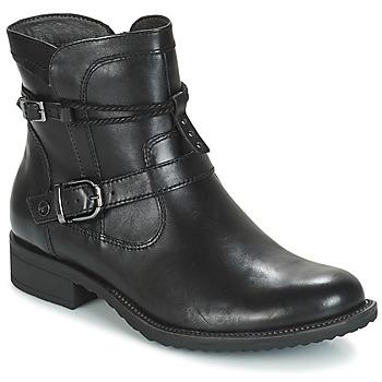 kengät Naiset Bootsit Tamaris ANOUK Black