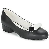 kengät Naiset Balleriinat Lola Ramona ALICE Musta / Valkoinen