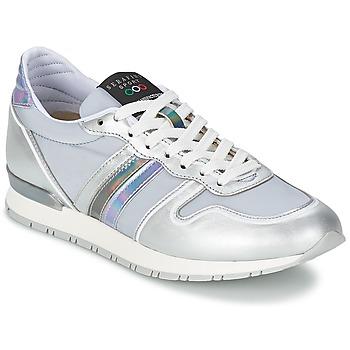 kengät Naiset Matalavartiset tennarit Serafini LOS ANGELES Hopea / Grey