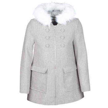 vaatteet Naiset Paksu takki Naf Naf AZALI Grey