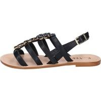 kengät Naiset Sandaalit ja avokkaat E...vee BY184 Musta