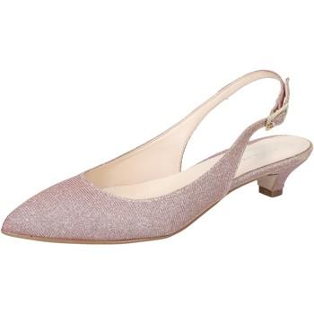kengät Naiset Sandaalit ja avokkaat Olga Rubini sandali rosa tessuto BY275 Rosa
