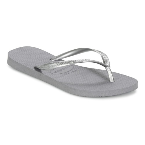 kengät Naiset Varvassandaalit Havaianas SLIM Grey / Acier