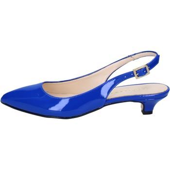 kengät Naiset Sandaalit ja avokkaat Olga Rubini sandali blu vernice BY278 Blu