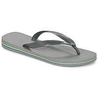 kengät Varvassandaalit Havaianas BRASIL Grey