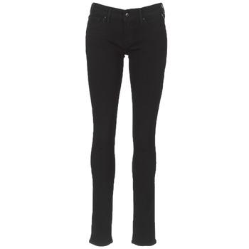 vaatteet Naiset Slim-farkut Replay LUZ Musta
