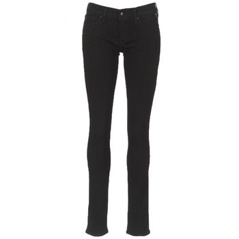 vaatteet Naiset Slim-farkut Replay LUZ Black