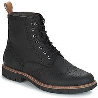 kengät Miehet Bootsit Clarks BATCOMBE LORD Black
