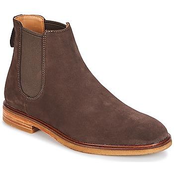 kengät Miehet Bootsit Clarks Clarkdale Gobi Pimeä / Ruskea / Mokka