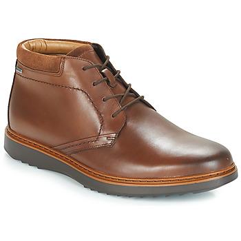 kengät Miehet Bootsit Clarks UN Brown