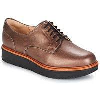 kengät Naiset Derby-kengät Clarks TEADALE Pimeä