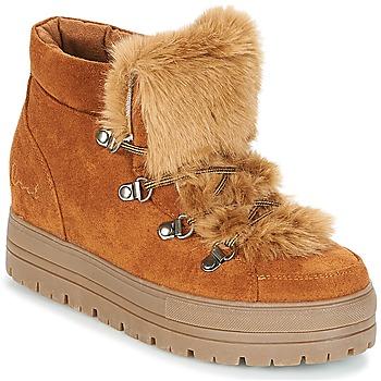 kengät Naiset Bootsit Coolway OSLO Camel
