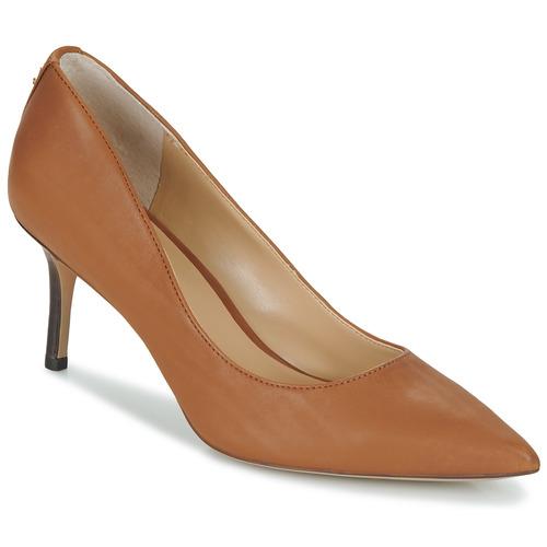 kengät Naiset Korkokengät Lauren Ralph Lauren LANETTE Camel