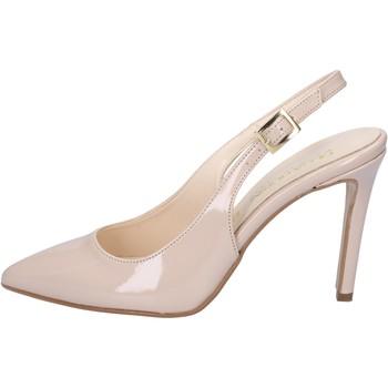 kengät Naiset Sandaalit ja avokkaat Olga Rubini sandali beige vernice BY286 Beige