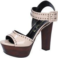 kengät Naiset Sandaalit ja avokkaat Olga Rubini Sandaalit BY316 Beige